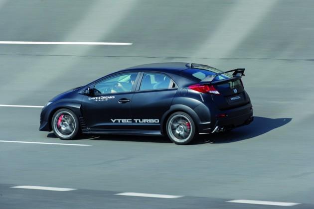 2015 Honda Civic Type R rear