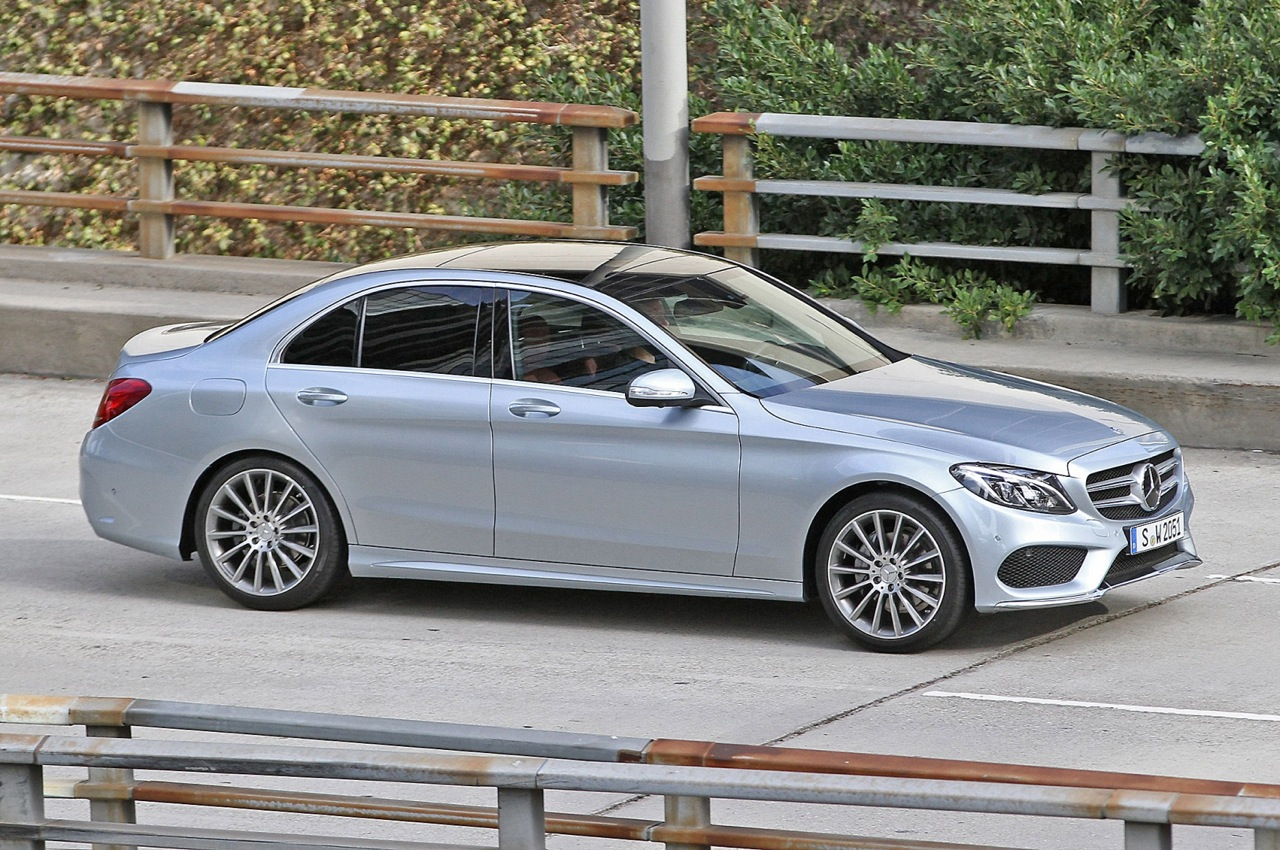 New 2014 2015 mercedes benz c class spotted performancedrive for New 2015 mercedes benz c class