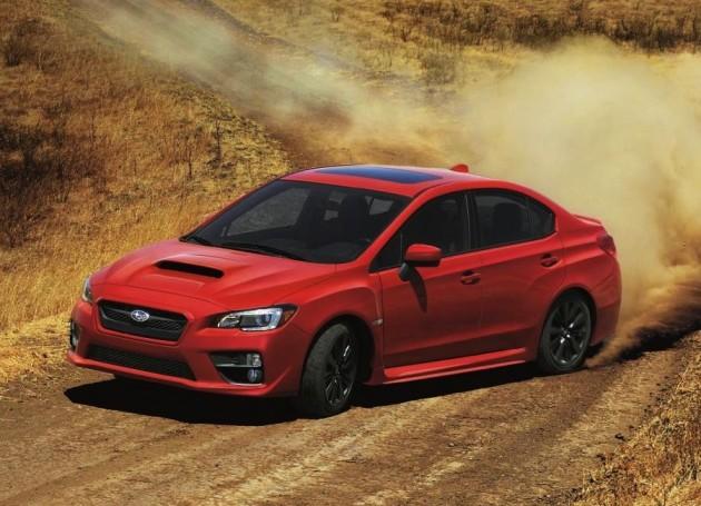 2015 Subaru WRX-dirt drift