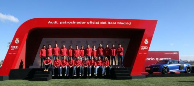 Audi-Real Madrid sponsor