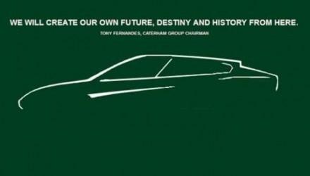 Caterham SUV sketch