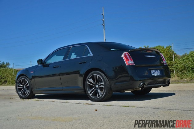 Chrysler 300 SRT8 Core rear spoiler
