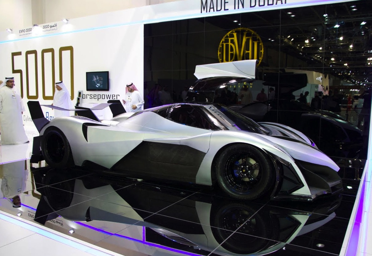 Devel Sixteen 560km H Hypercar With Insane V16 Engine Performancedrive