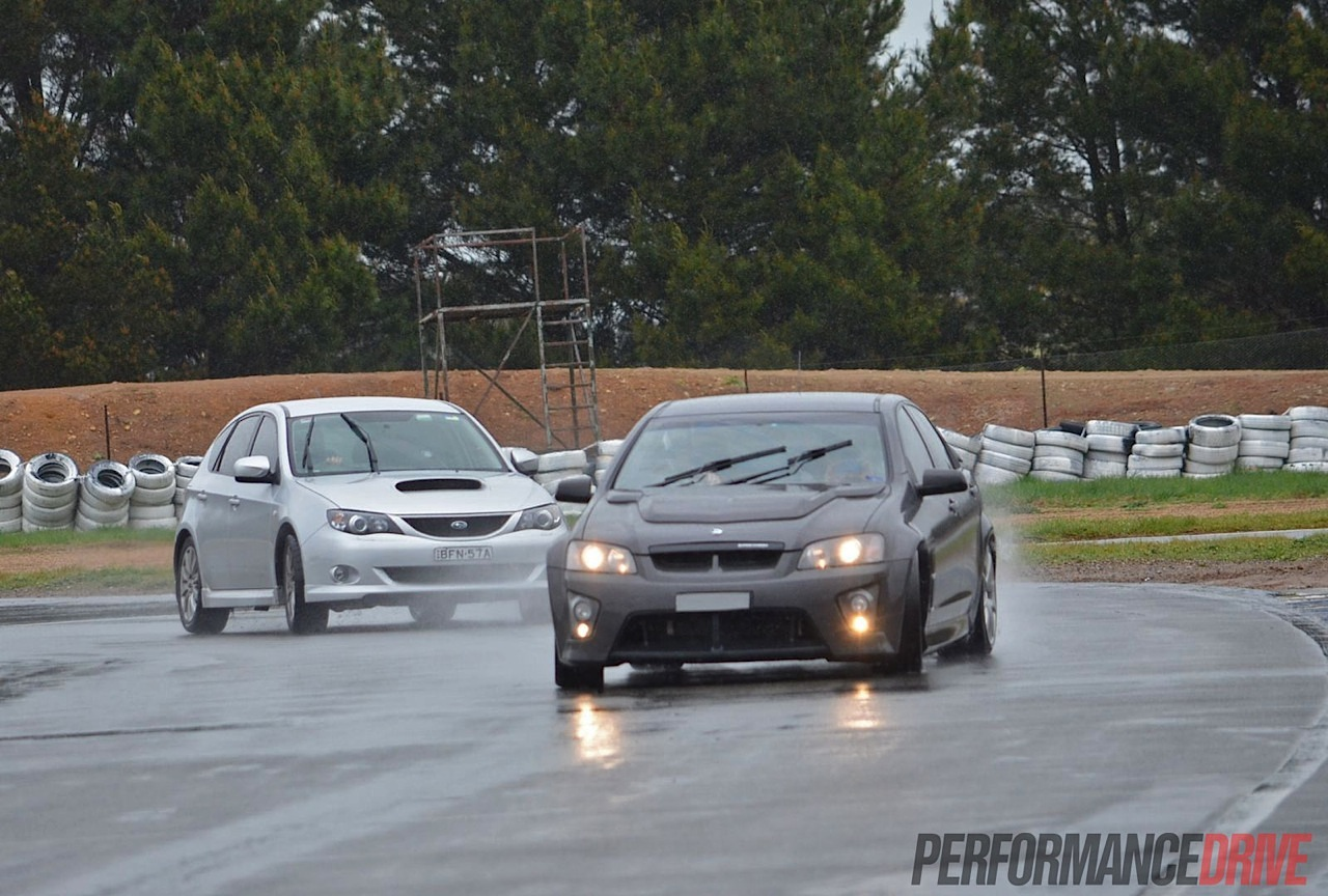 Gp Exec Track Day At Wakefield Park Video Performancedrive