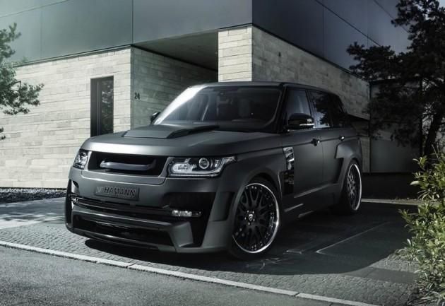 Hamann Mystere Range Rover-grey