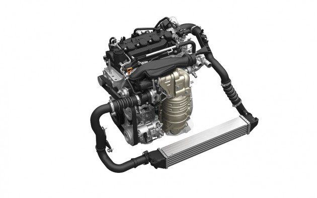 Honda VTEC TURBO 1.5L engine