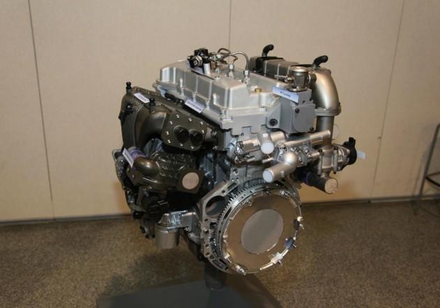 Hyundai GDCI diesel petrol engine