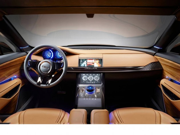 Jaguar C-X17 Sports Crossover concept-China-interior