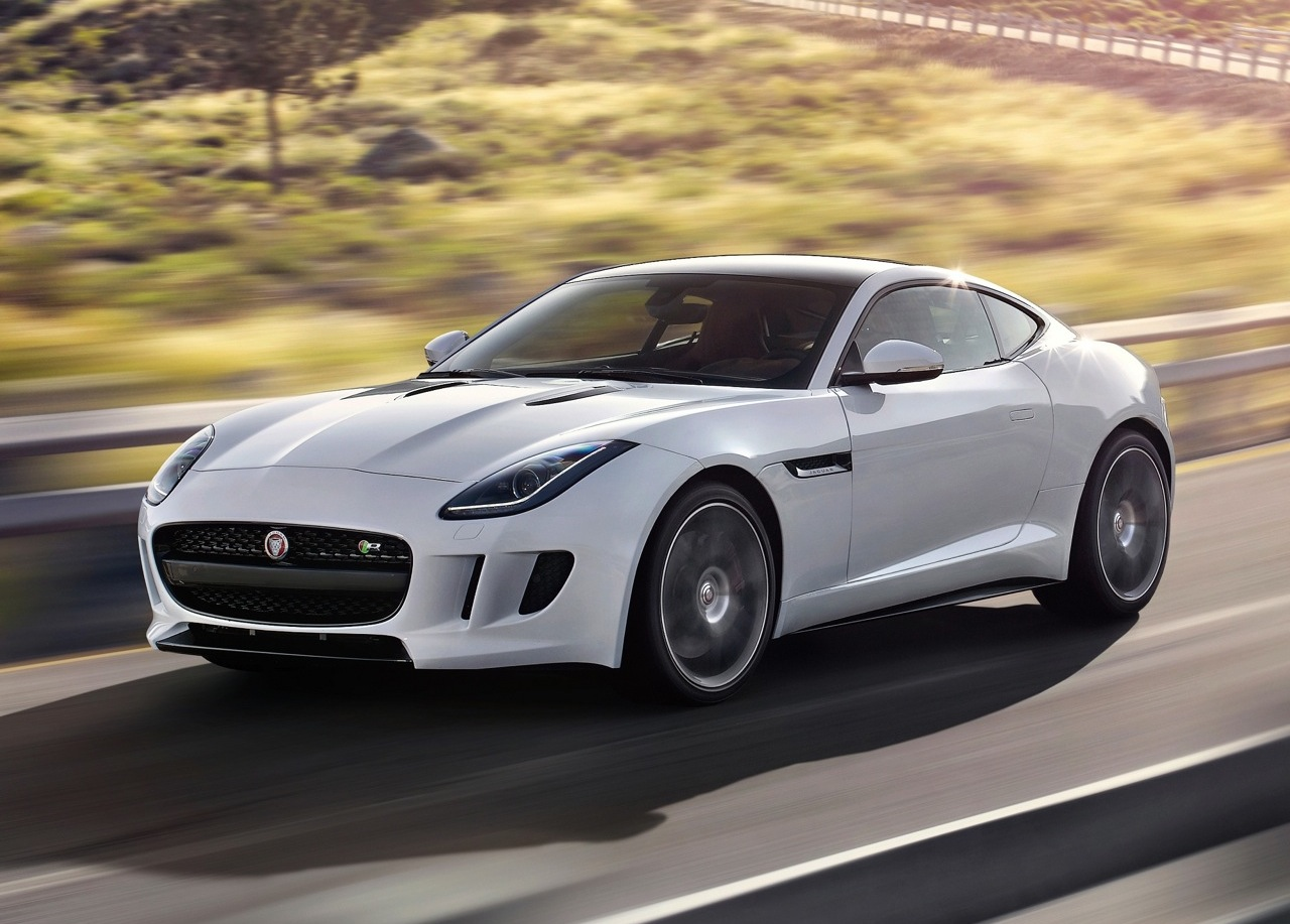 jaguar f type coupe unveiled flagship 39 r 39 with 404kw. Black Bedroom Furniture Sets. Home Design Ideas