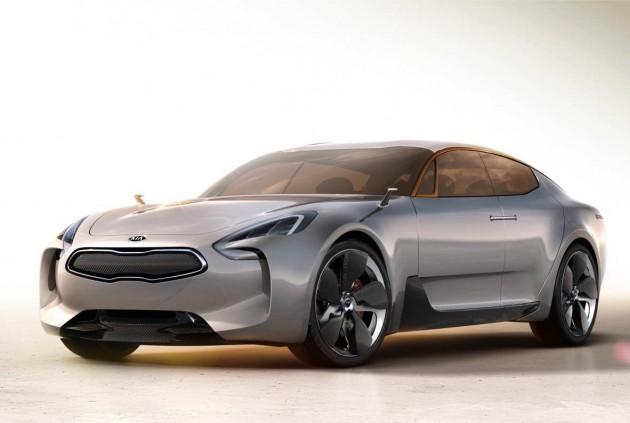 Kia GT concept sketch