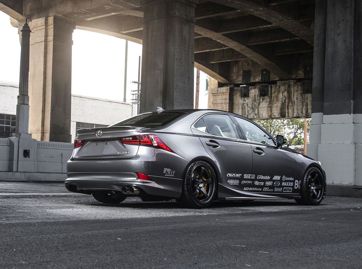 Custom Lexus IS Show Cars Headed To SEMA 2JZ Conversion