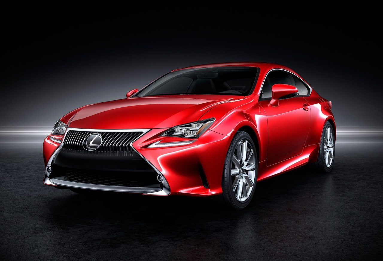 lexus rc revealed rc 350 rc 300h first models performancedrive. Black Bedroom Furniture Sets. Home Design Ideas