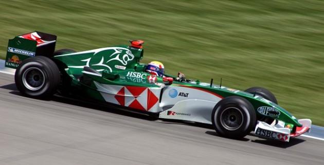 Mark Webber Jaguar F1 R5-2004