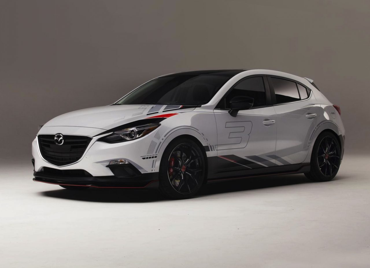 mazda3 mazda6 club sport concepts hit sema. Black Bedroom Furniture Sets. Home Design Ideas