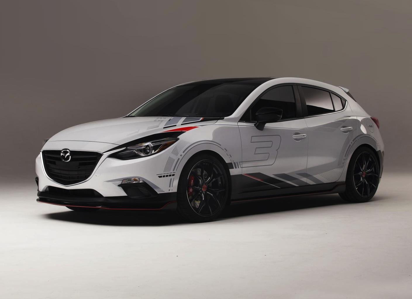 Mazda3 Amp Mazda6 Club Sport Concepts Hit Sema