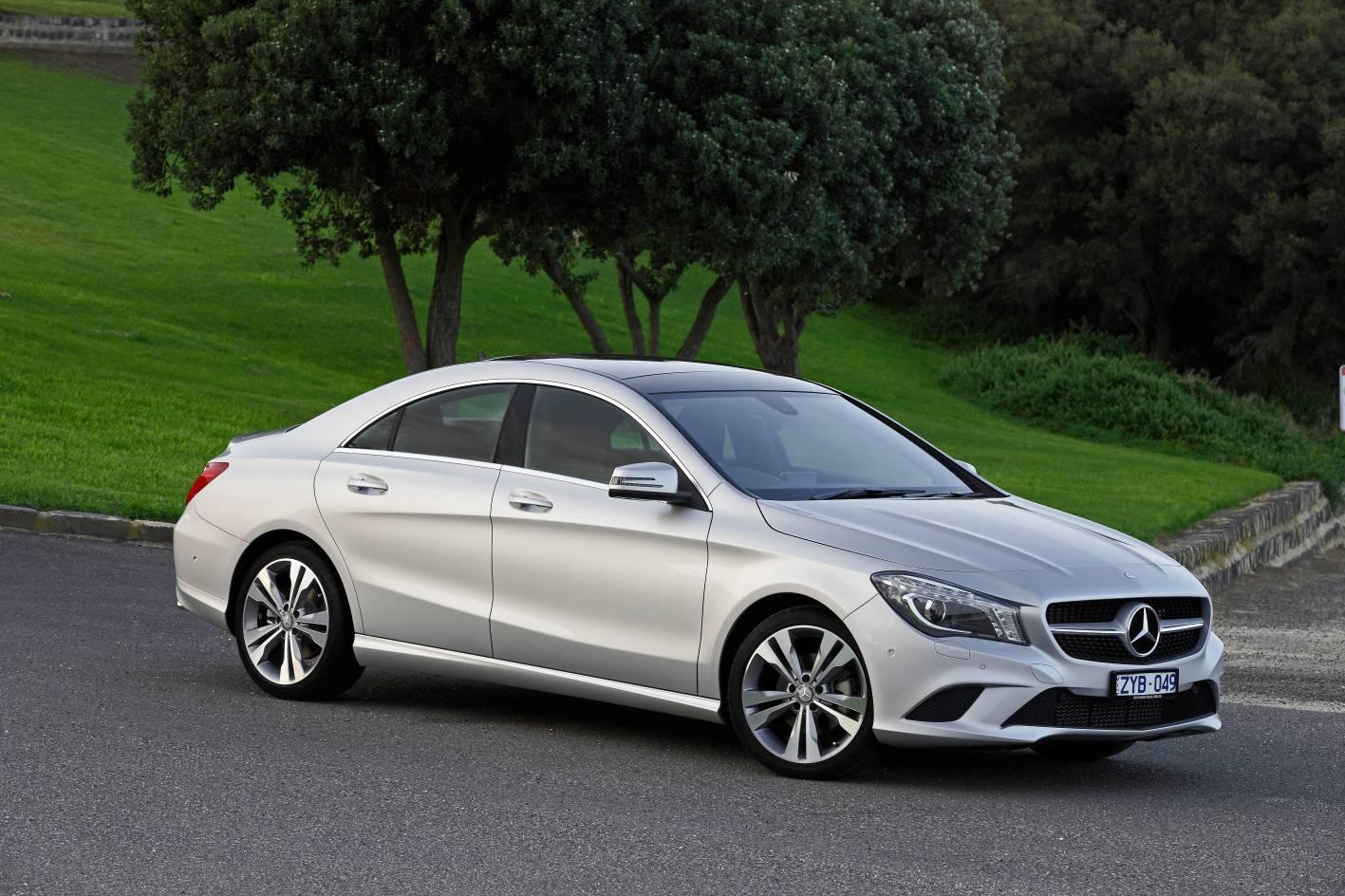 Australian vehicle sales for october 2013 commodore for Mercedes benz cla 2 door