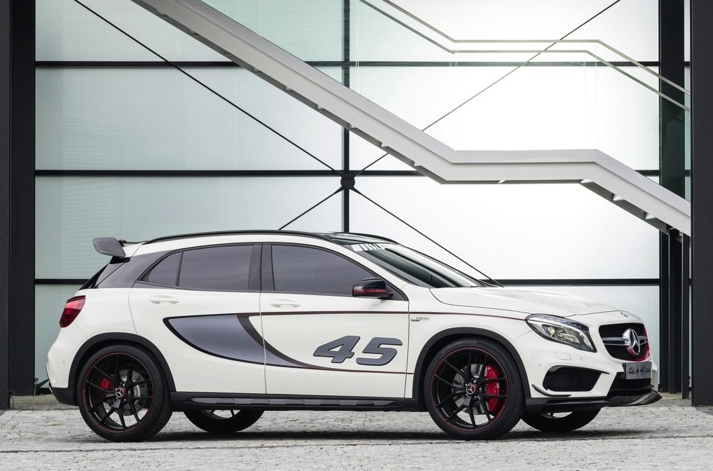 mercedes benz gla 45 amg concept unveiled performancedrive. Black Bedroom Furniture Sets. Home Design Ideas
