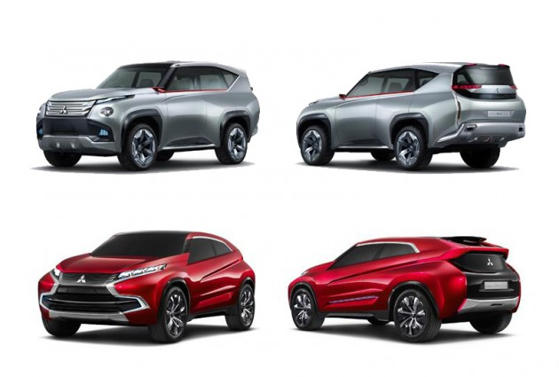 Mitsubishi Concept GC-PHEV and Concept XR-PHEV