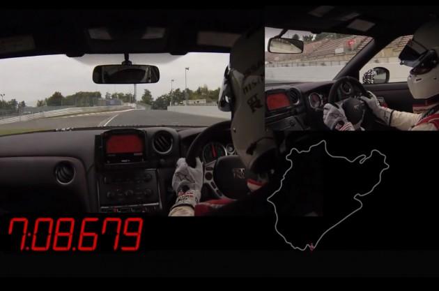 Nissan GT-R Nismo Nurburgring lap