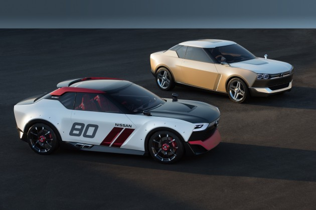 Nissan IDx Nismo and Freeflow-Datsun 240K and 1600