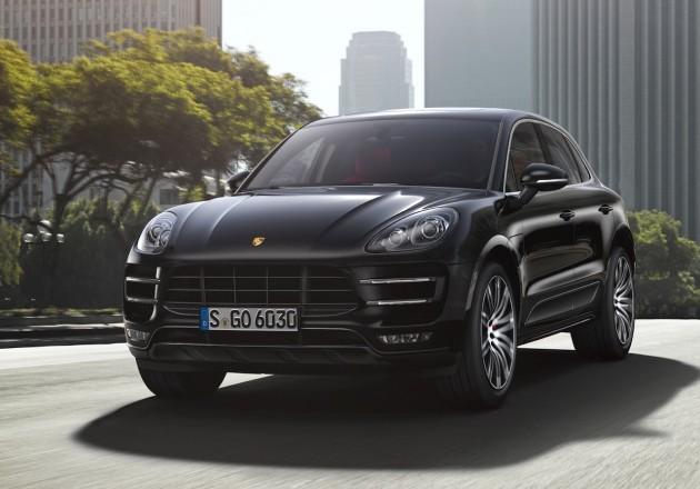 Porsche Macan-black