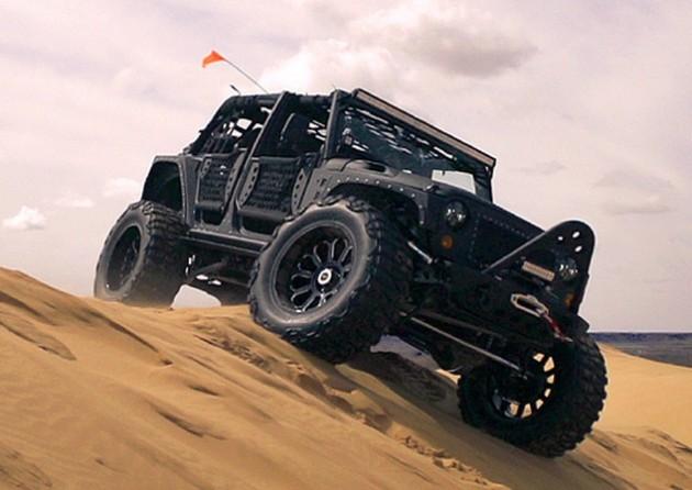 Starwood Motors Full Metal Jacket Jeep-off road