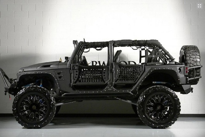 Starwood Motors Creates Monster Full Metal Jacket Jeep