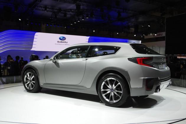 Subaru Cross Sport Design concept-rear