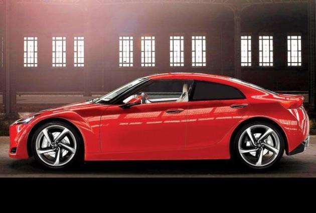 Toyota Sedan FT 86 concept-render