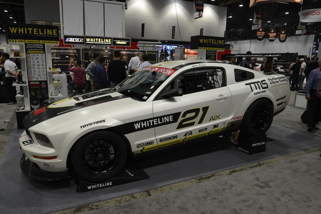 Whiteline Ford Mustang 2013 Sema