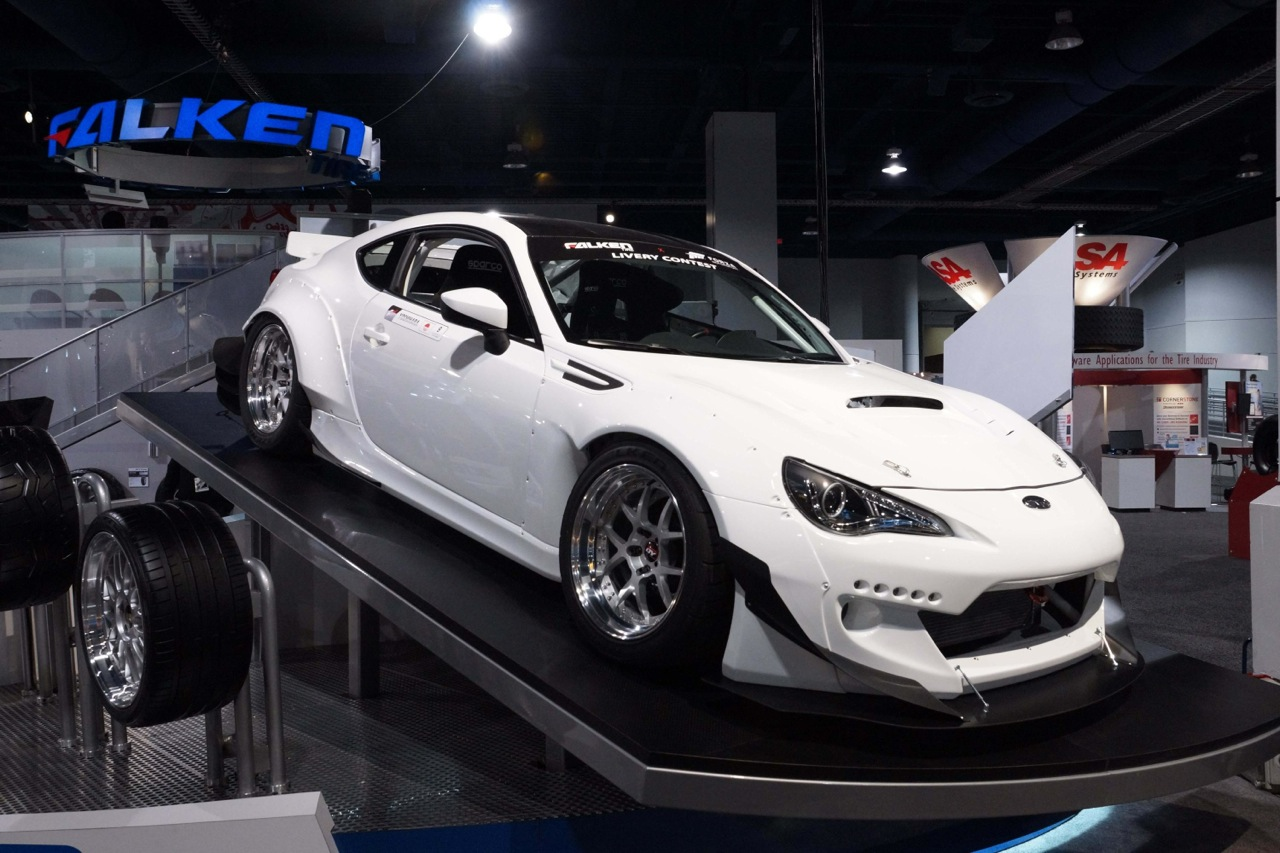 Widebody Toyota 86 White 2013 Sema