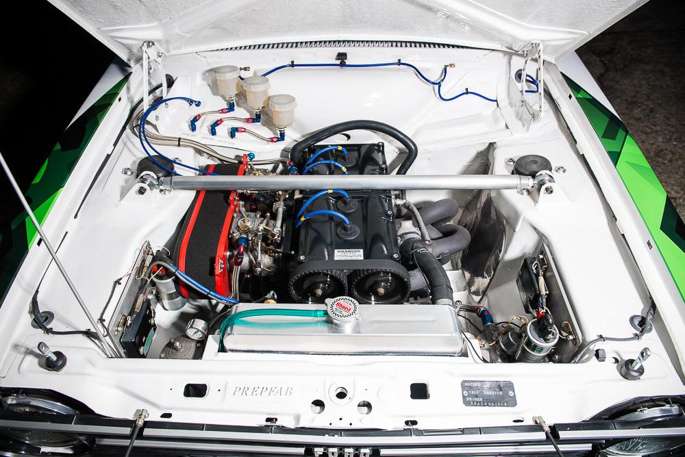 1972 Ford Escort Mk2 Rs1800 Rally Car Mcrae 2l Engine