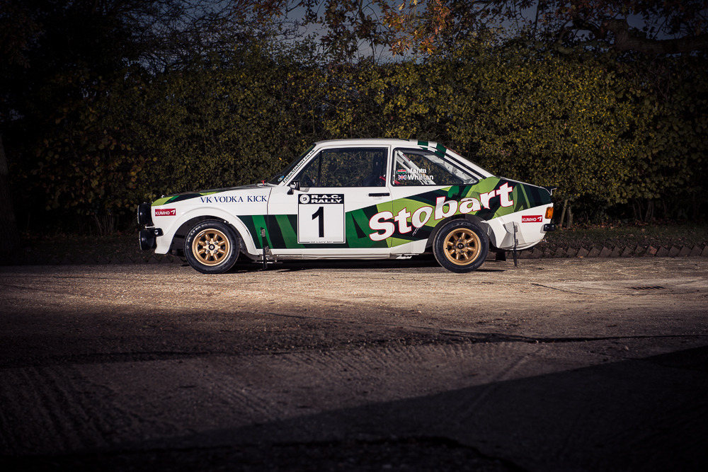 For Sale: 1972 Ford Escort RS1800 tested by Colin McRae ...