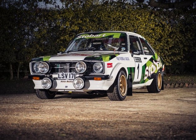1972 Ford Escort Mk2 RS1800 rally car-McRae