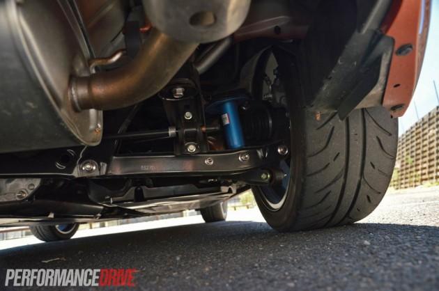 2013 Toyota 86 GTS Tada prototype rear suspension-Sachs