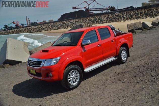 2013 Toyota HiLux SR5 Velocity Red