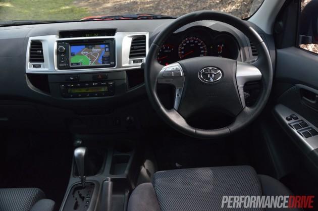 2013 Toyota HiLux SR5 interior