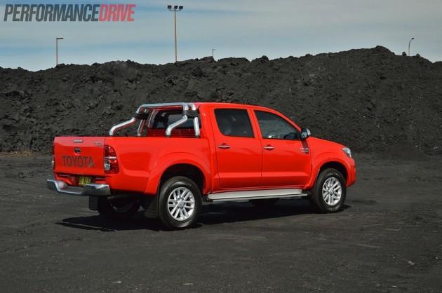 2013 Toyota HiLux SR5 rear