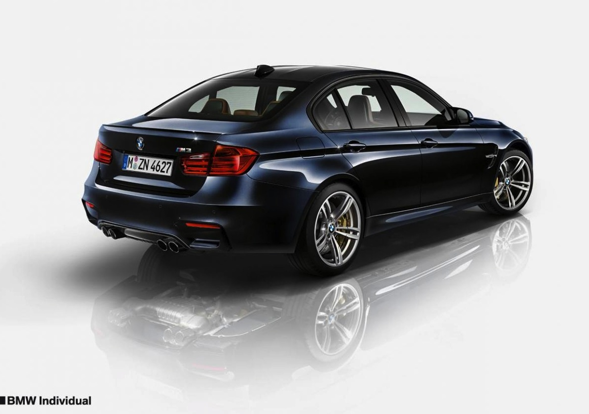bmw m3 m4 individual program revealed performancedrive. Black Bedroom Furniture Sets. Home Design Ideas