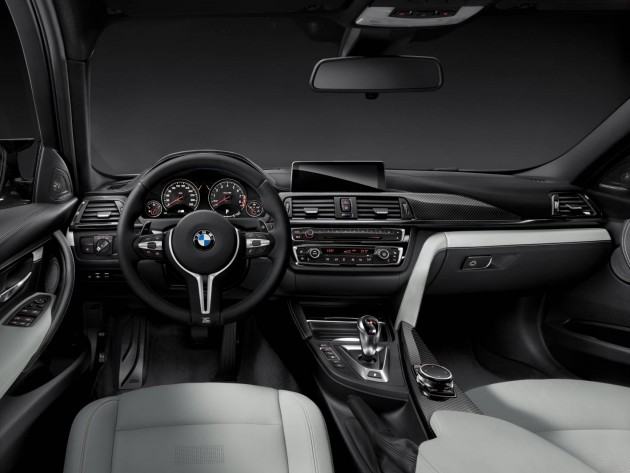 2014 BMW M3 sedan-interior