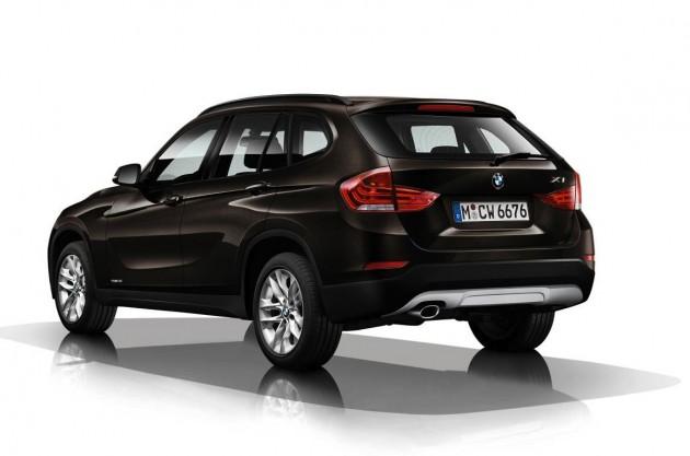 2014 BMW X1-rear