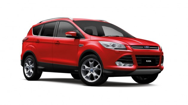 2014 Ford Kuga Race Red