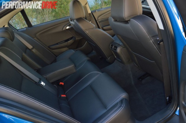 2014 Holden Commodore SV6-rear seats