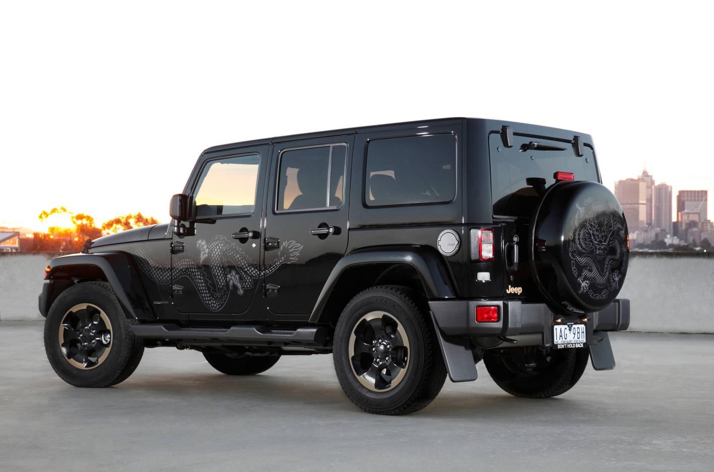2014 jeep wrangler dragon edition on sale from 51 000 performancedrive. Black Bedroom Furniture Sets. Home Design Ideas