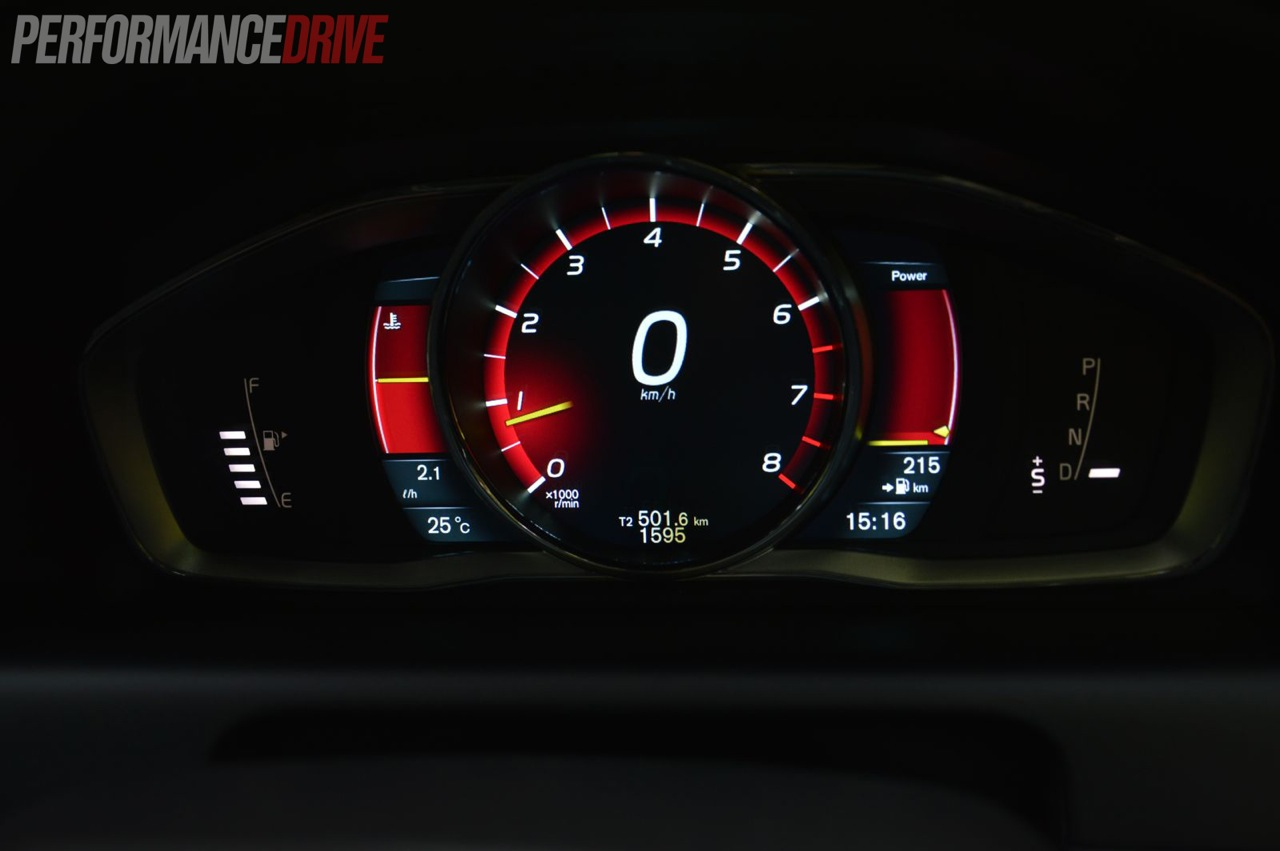 2014 Volvo Xc60 T6 R Design Performance Instrument Cluster