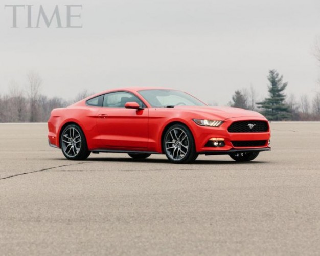 2015 Ford Mustang-TIME