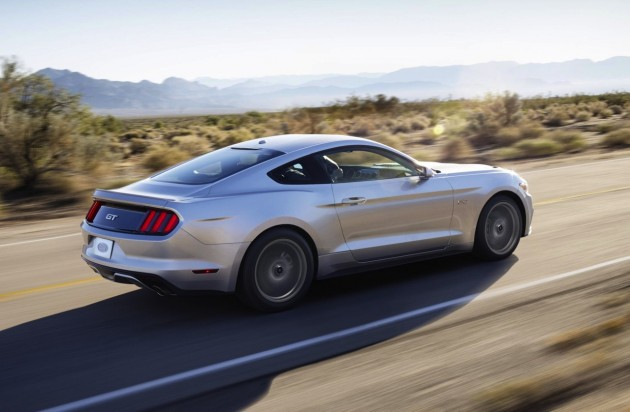 2015 Ford Mustang silver