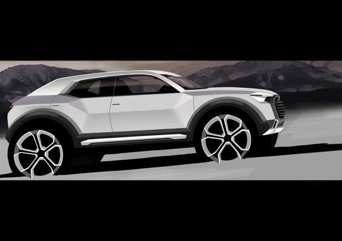 Audi Compact Suv Confirmed Design Sketch Revealed