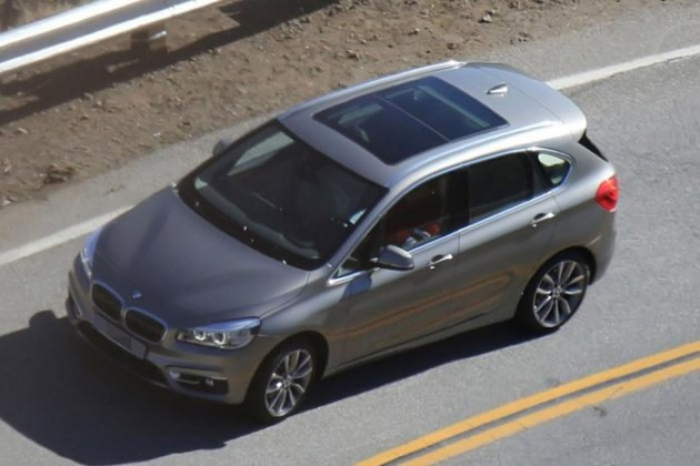 BMW 2 Series Active Tourer spied-2