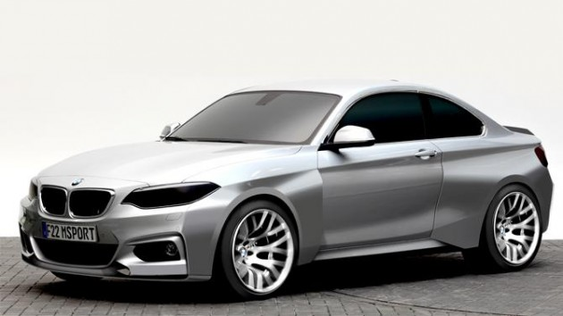 BMW M235i Racing-design